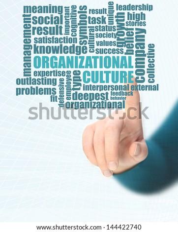 organizational culture - stock photo