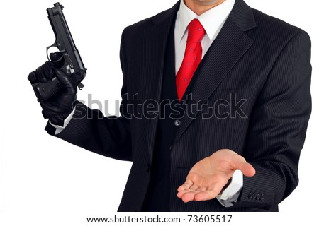 Organized crime - stock photo