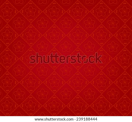 Oriental Chinese Background - stock photo