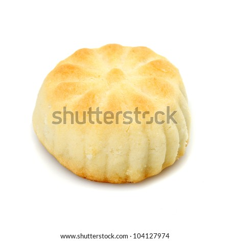 Oriental cookies on a white background - stock photo