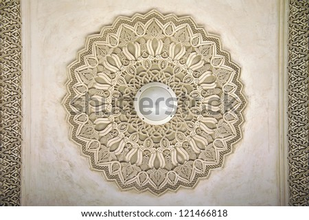 Oriental decoration - stock photo