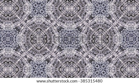 Oriental kaleidoscope fractal. Abstract background.