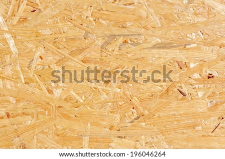 Oriented Strand Board Texture - stock photo