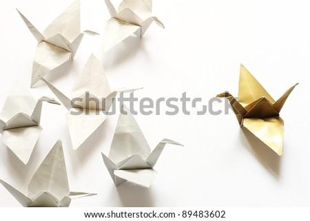 Origami - stock photo