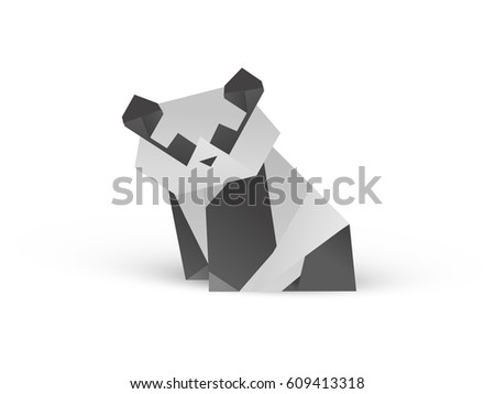 origami panda bear instructions