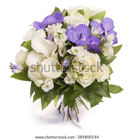original flower bouquet stock photo 389800090 shutterstock. Black Bedroom Furniture Sets. Home Design Ideas