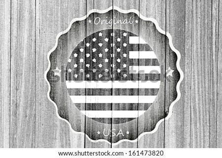 original mark USA - stock photo