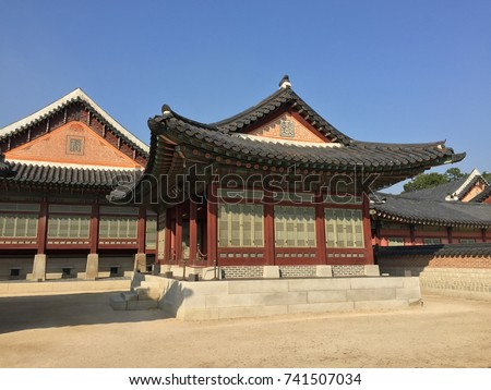 Original traditional Korean house