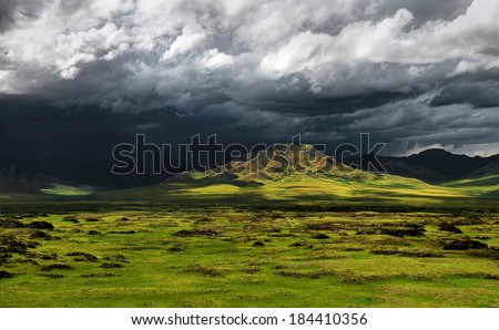 Orkhon River Valley Storm