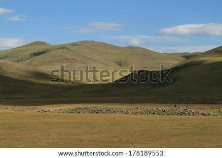 Orkhon Valley National Park Mongolia