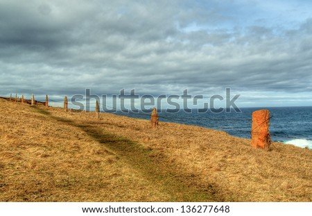 Orkneyt - stock photo