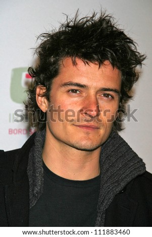 Orlando Bloom at the 2007 US-Ireland Allliance Gala. The Ebell Club of Los Angeles, Los Angeles, CA. 02-22-07