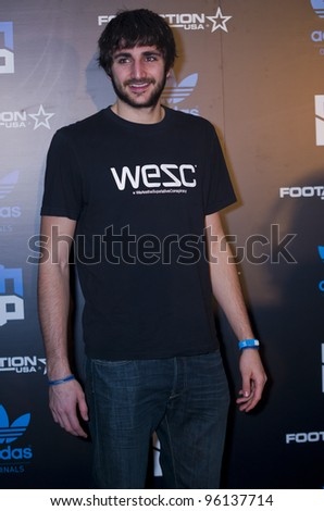 ORLANDO, FLORIDA - FEB. 24: Minnesota Timberwolves Guard, Ricky Rubio attends the VIP All-Star party hosted by Dwight Howard and Adidas.  FEB. 24, 2012 in Orlando Florida.