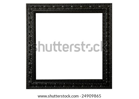 Ornate Black Picture Frame