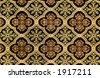 Ornate carpet pattern - stock photo