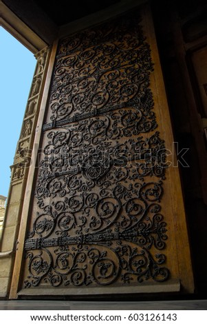 Ornate Hinges Stock Images Royalty Free Images Amp Vectors