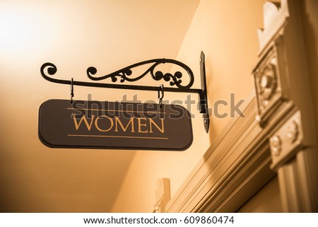 Yellow Bathroom Signs bathroom sign stock images, royalty-free images & vectors