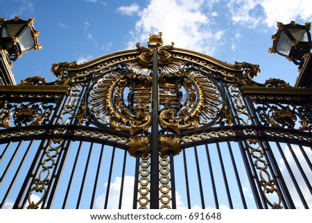 Ornate Royal Gate