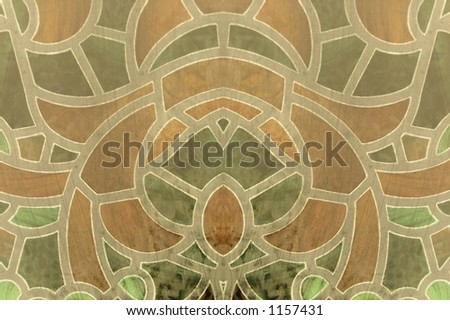 Ornate scrolled backgrounds - stock photo