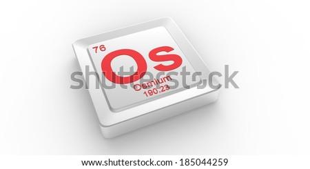 Os symbol 76 material osmium chemical stock illustration 185044259 os symbol 76 material for osmium chemical element of the periodic table urtaz Choice Image