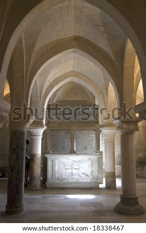 Osimo (Ancona, Marche, Italy) - Crypt of the Cathedral