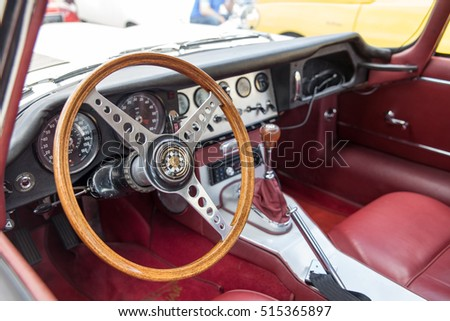 corvette red leather seats stock images royalty free images vectors shutterstock. Black Bedroom Furniture Sets. Home Design Ideas