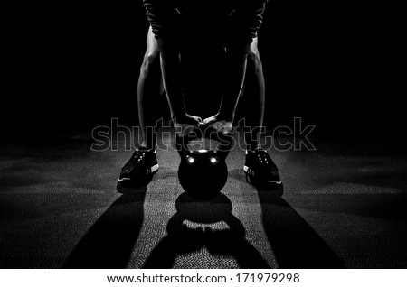 Other Deadlifts - stock photo