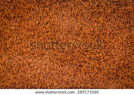 Other side of brown leather texture background - stock photo