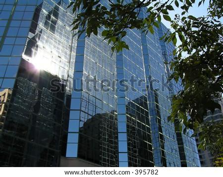 Ottawa downtown building - stock photo