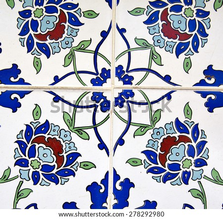 Ottoman Background - stock photo