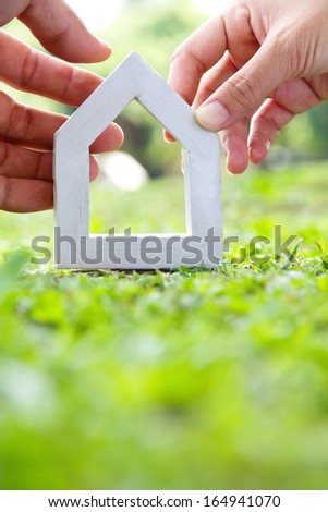 our house concept  - stock photo