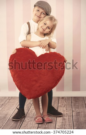 Our love is so big  - stock photo