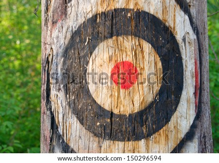 Our Target - stock photo
