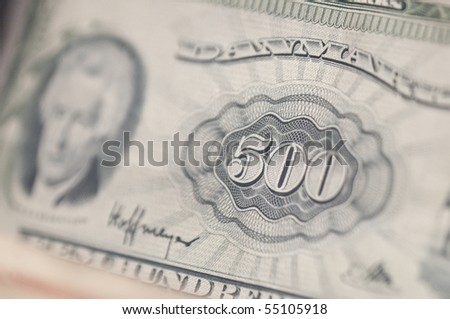 Out of circulation Danish currency - stock photo