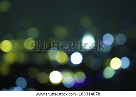 Out-of-focus bokeh