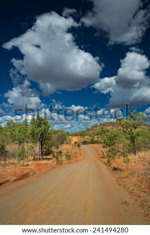 Outback Travel, Australia - stock photo