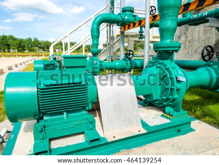 treated water centrifugal pump fuel oil stock photo 462371947 shutterstock. Black Bedroom Furniture Sets. Home Design Ideas