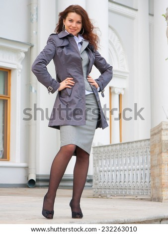 Outdoor Model Business  - stock photo