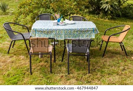 Outdoor Summer Casual Garden Party