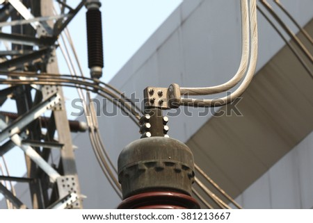 Outdoor switchgear, power substation and equipment