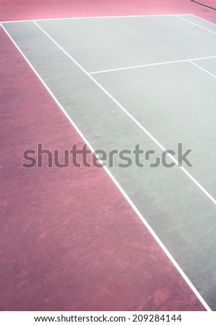 Outdoor tennis courts  - stock photo