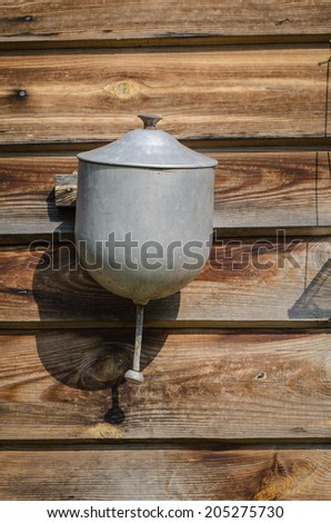 outdoor water dispenser - stock photo