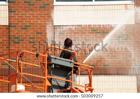 Pressure Washing Stock Images Royalty Free Images Vectors Shutterstock
