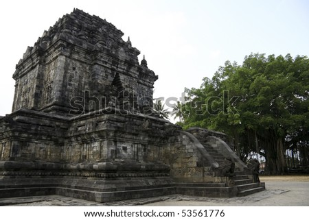 outer temple of borobudur ruins near yogyakarta in java indonesia