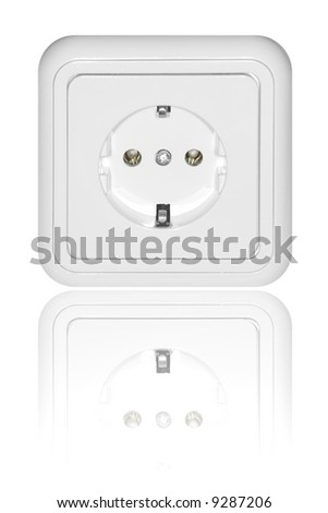 Outlet with reflection