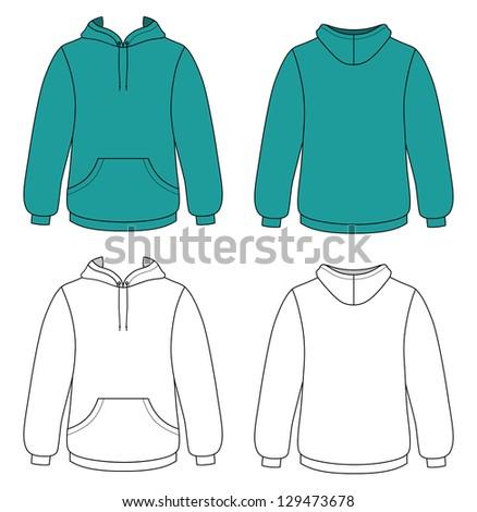Sweatshirt Design Template Set Photography