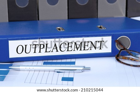 Outplacement - stock photo