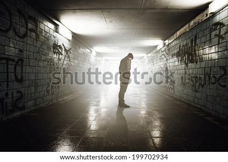 Outsider - stock photo