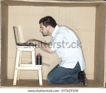 Over time working - stock photo