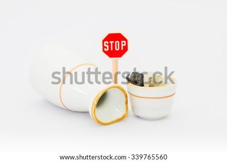 Overdrinking - stock photo